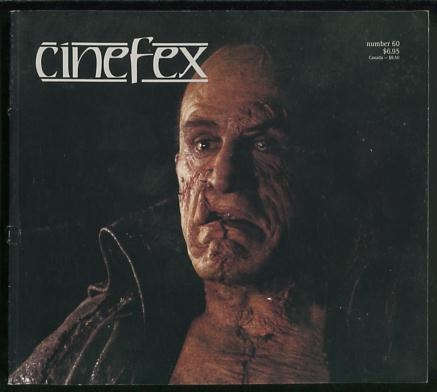 Image for Cinefex...the journal of cinematic illusions - issue 60, December 1994 [cover: MARY SHELLEY'S FRANKENSTEIN]