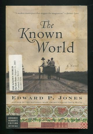 Image for The Known World [Advance Reader's Edition]