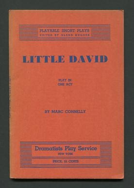 Image for Little David; play in one act