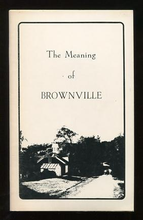 Image for The Meaning of Brownville