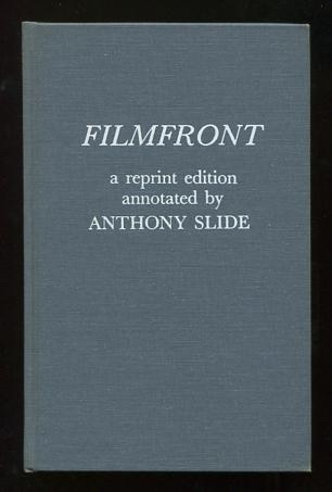 Image for Filmfront; a reprint edition annotated by Anthony Slide