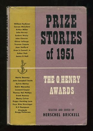 Image for Prize Stories of 1951: The O. Henry Awards