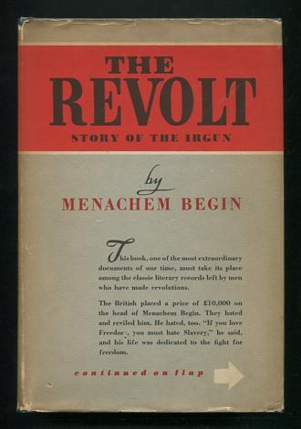 Image for The Revolt: Story of the Irgun