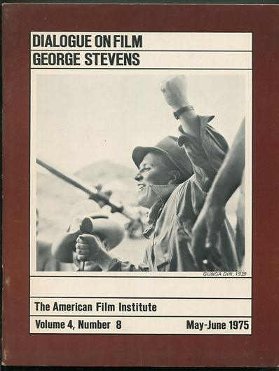 Image for The American Film Institute Dialogue on Film (May-June 1975): George Stevens