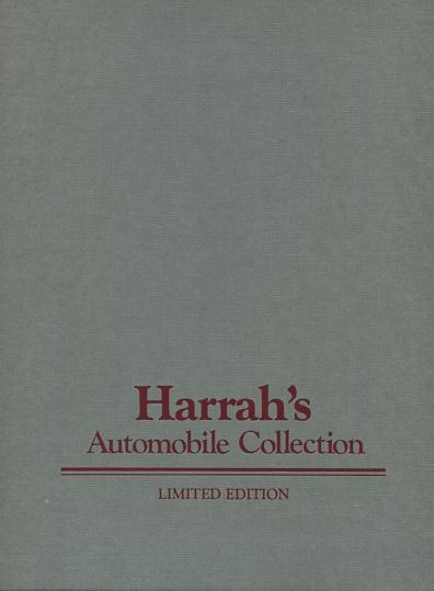 Image for Harrah's Automobile Collection [limited/numbered edition] [*SIGNED*]