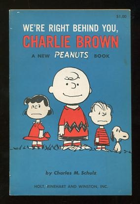 Image for We're Right Behind You, Charlie Brown; a new Peanuts book