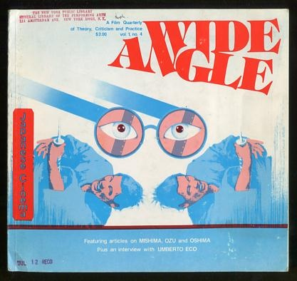 Image for Wide Angle (1977) [special issue: Japanese Cinema]