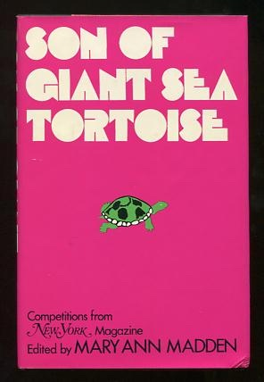 Image for Son of Giant Sea Tortoise: Competitions from New York Magazine