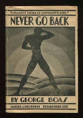 Image for Never Go Back; a novel without a plot