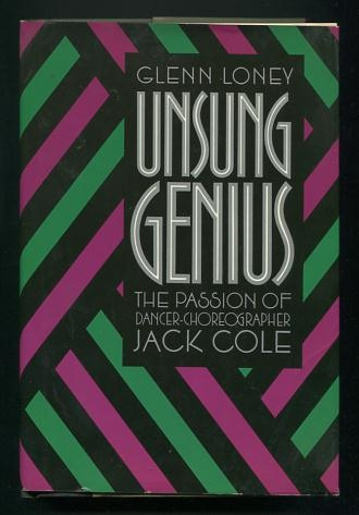 Image for Unsung Genius: The Passion of Dancer-Choreographer Jack Cole