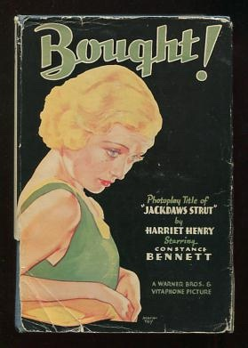 Image for Bought; photoplay title of Jackdaws Strut