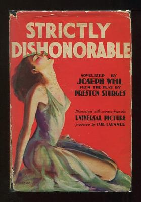 Image for Strictly Dishonorable [Photoplay Edition]