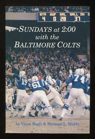 Image for Sundays at 2:00 with the Baltimore Colts [*SIGNED*]