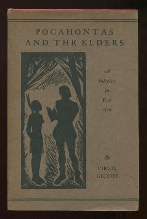 Image for Pocahontas and the Elders: A Folkpiece in Four Acts