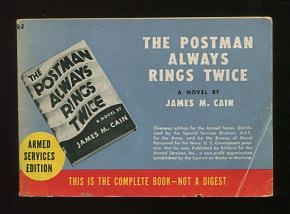 Image for The Postman Always Rings Twice (Armed Services Edition, Q-2) [*SIGNED*]
