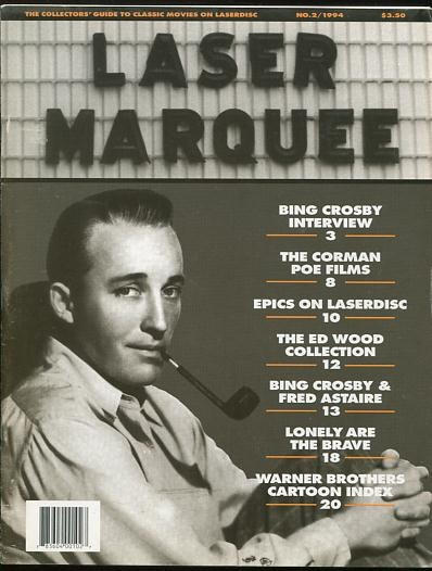 Image for Laser Marquee (October-November 1994 issue) [cover: Bing Crosby]