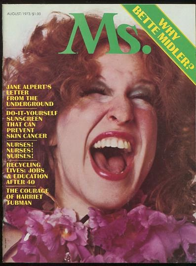 Image for Ms. (August 1973) [cover: Bette Midler]