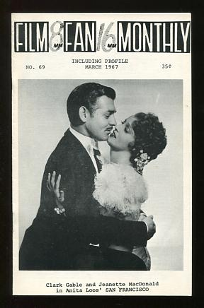 Image for Film Fan Monthly (March 1967) [cover: Clark Gable and Jeanette MacDonald]