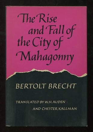 Image for The Rise and Fall of the City of Mahagonny