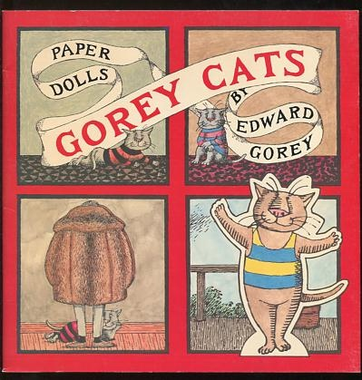 Image for Gorey Cats Paper Dolls