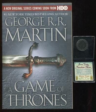 Image for A Game of Thrones: Book One of a Song of Ice and Fire [*SIGNED*, with coin]
