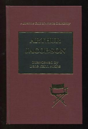Image for Arthur Jacobson; interviewed by Irene Kahn Atkins [*SIGNED* by Jacobson]