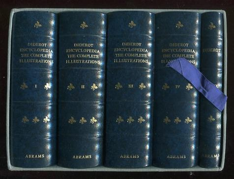 Image for Diderot Encyclopedia: The Complete Illustrations 1762-1777 [5-volume set, in slipcase]