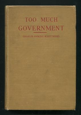 Image for Too Much Government