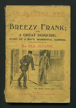 Image for Breezy Frank; or, A Great Disguise: Story of a Boy's Wonderful Cunning