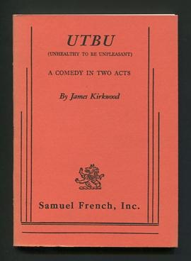 Image for UTBU (Unhealthy To Be Unpleasant); a comedy in two acts