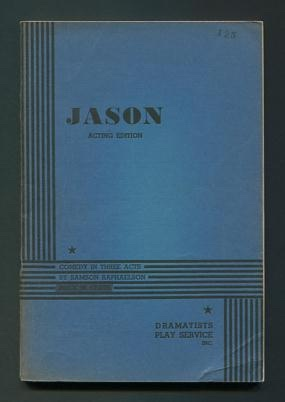 Image for Jason; comedy in three acts