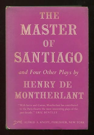 Image for The Master of Santiago, and Four Other Plays