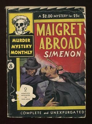 "Image for Maigret Abroad [containing: ""A Crime in Holland"" and ""At the 'Gai-Moulin'""]"
