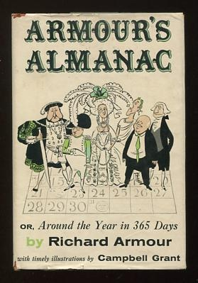 Image for Armour's Almanac; or, Around the Year in 365 Days [*SIGNED*]