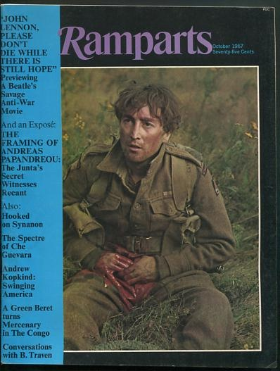 Image for Ramparts (October 1967 issue) [cover: John Lennon]