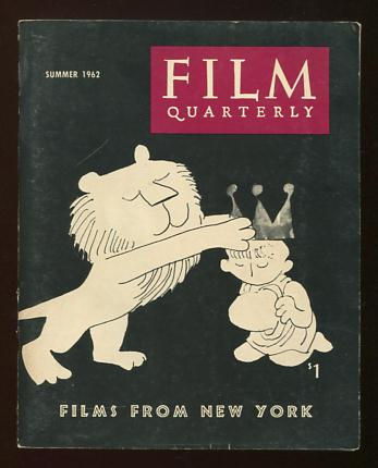 Image for Film Quarterly (Summer 1962) [cover: drawing for OF STARS AND MEN]