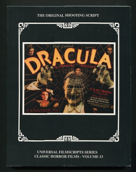Image for Dracula (The Original 1931 Shooting Script)
