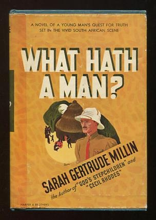 Image for What Hath a Man?