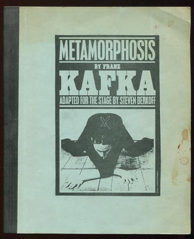 Metamorphosis By Franz Kafka Adapted For The Stage By Steven Berkoff