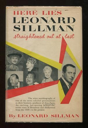Image for Here Lies Leonard Sillman: Straightened Out at Last