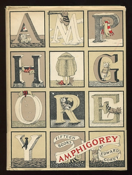 Image for Amphigorey: Fifteen Books by Edward Gorey