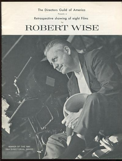 Image for The Directors Guild of America presents a retrospective showing of eight films by Robert Wise