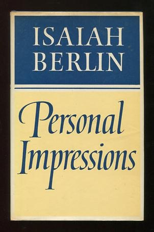 Image for Personal Impressions [*SIGNED association copy*]