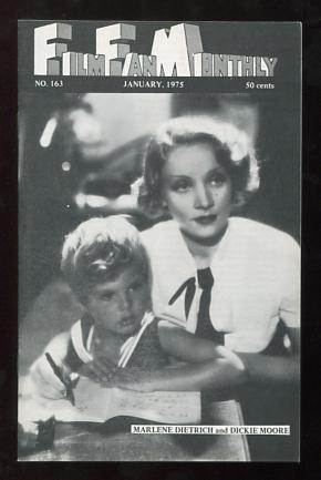 Image for Film Fan Monthly (January 1975) [cover: Marlene Dietrich and Dickie Moore in BLONDE VENUS]