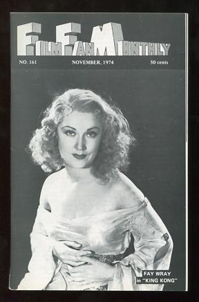 Image for Film Fan Monthly (November 1974) [cover: Fay Wray in KING KONG]