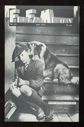 Image for Film Fan Monthly (May 1974) [cover: Roddy McDowall and Lassie]