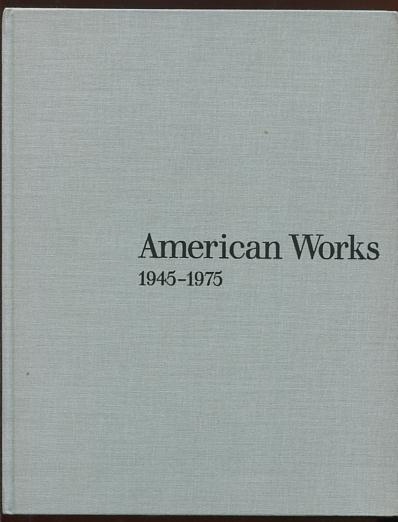 Image for American Works 1945-1975