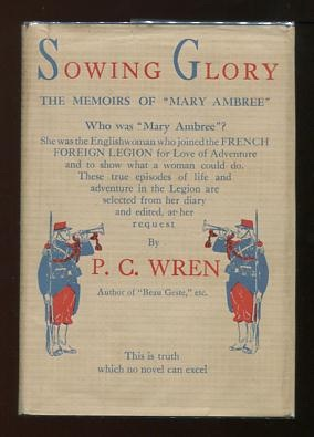 "Image for Sowing Glory: The Memoirs of ""Mary Ambree,"" the English Woman-Legionary"