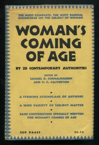 Image for Woman's Coming of Age: A Symposium