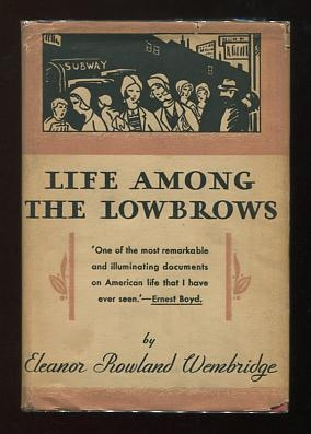Image for Life Among the Lowbrows